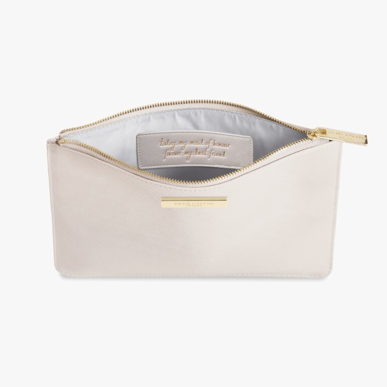 Secret Message Pouch Maid Of Honour In Pearlescent