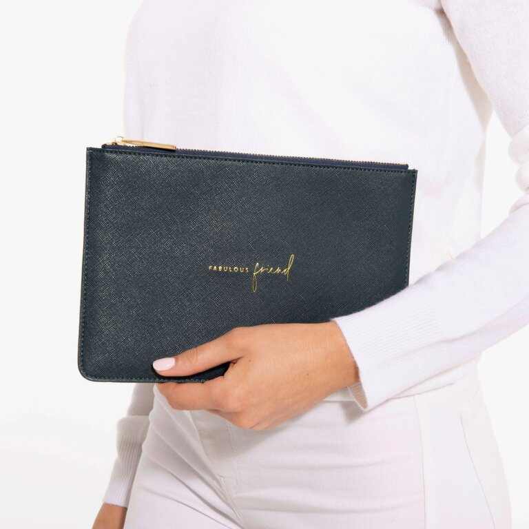 Perfect Pouch Fabulous Friend In Navy