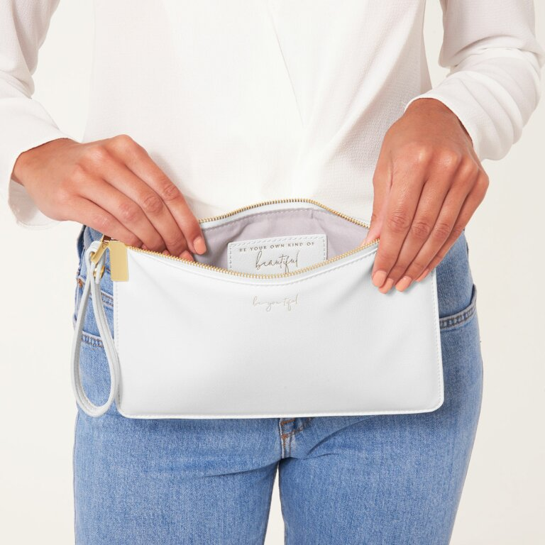 Secret Message Pouch   Be-You-Tiful, Be Your Own Kind Of Beautiful