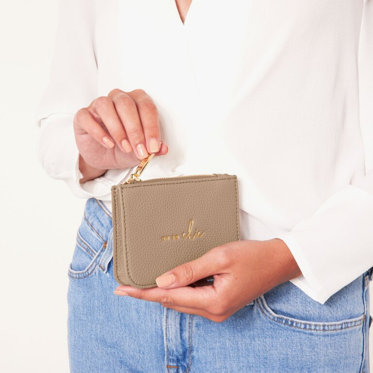Stylish Structured Coin Purse Oh So Chic