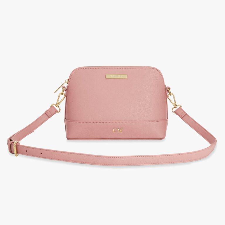 Harper Cross Body Bag In Nude Pink