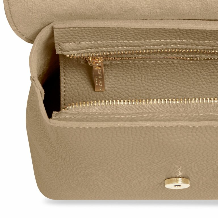 Bailey Backpack   Taupe