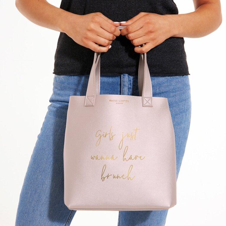 Luxury Lunch Bag   Girls Just Wanna Have Brunch
