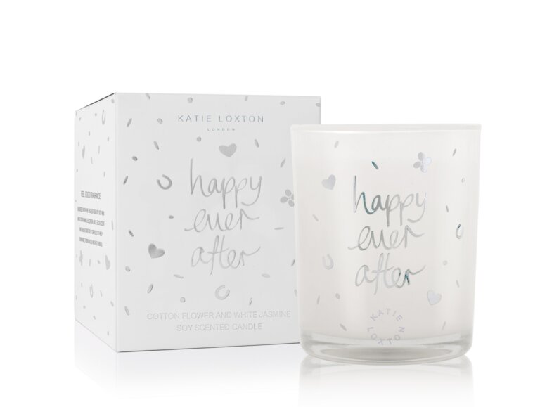 Happy Ever After Candle | Cotton Flower And White Jasmine