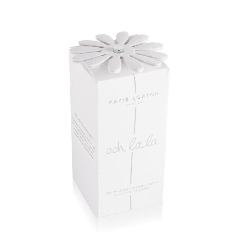 Ooh La La Tealight Candles | Sicilian Lemon And White Blossom