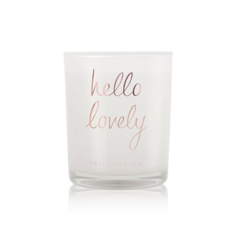 Hello Lovely Candle   Sugar Berry And Wild Mint Mojito