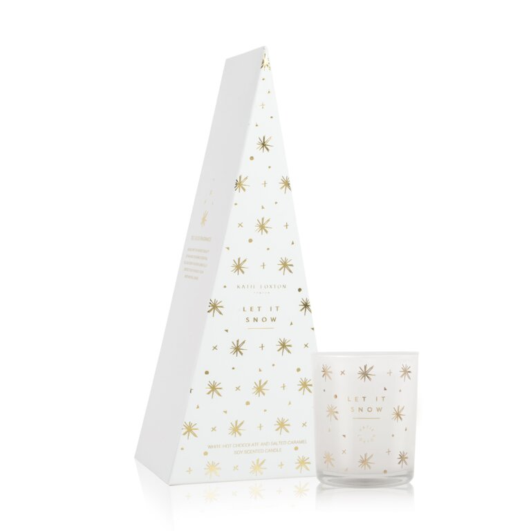 Let It Snow Candle | Salted Caramel And Vanilla