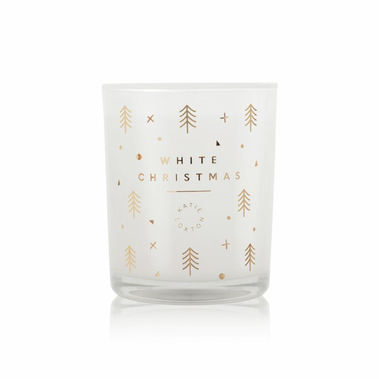 White Christmas Candle | Nutmeg And Spiced Pumpkin