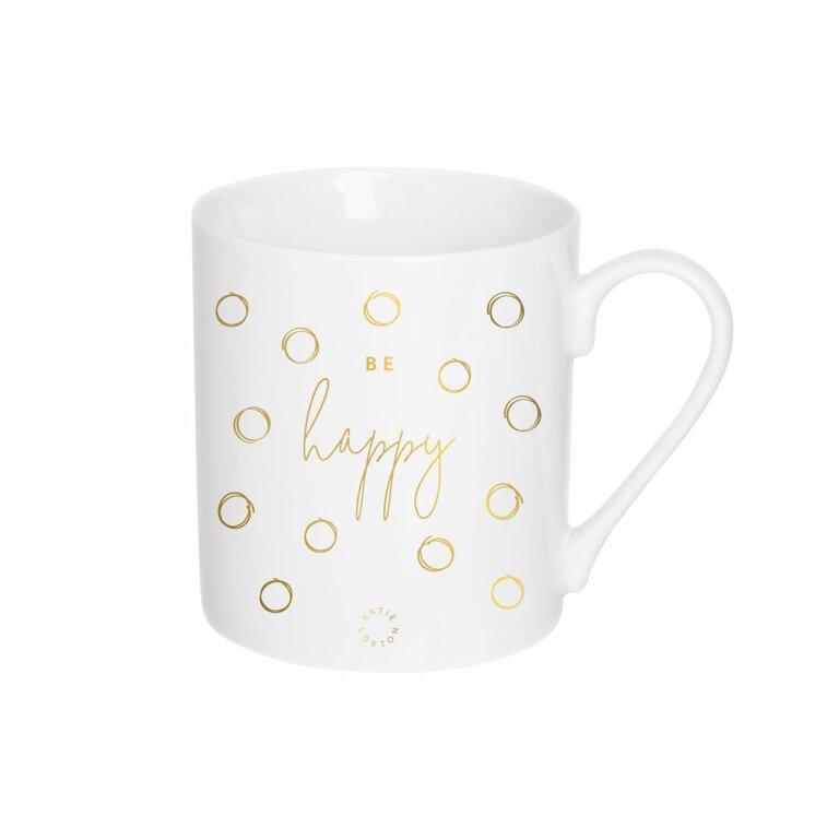 Porcelain Mug   Be Happy
