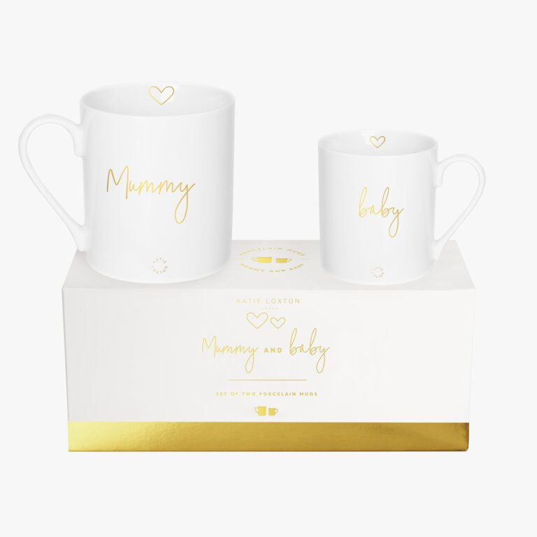 Porcelain Mug Gift Set Mummy And Baby