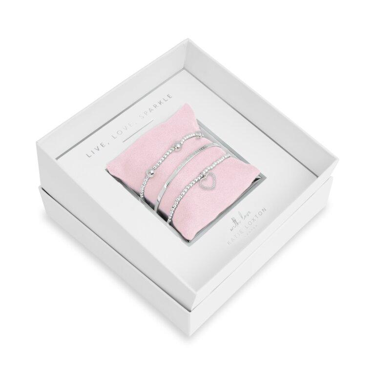 Occasion Gift Box Live Love Sparkle Bracelets
