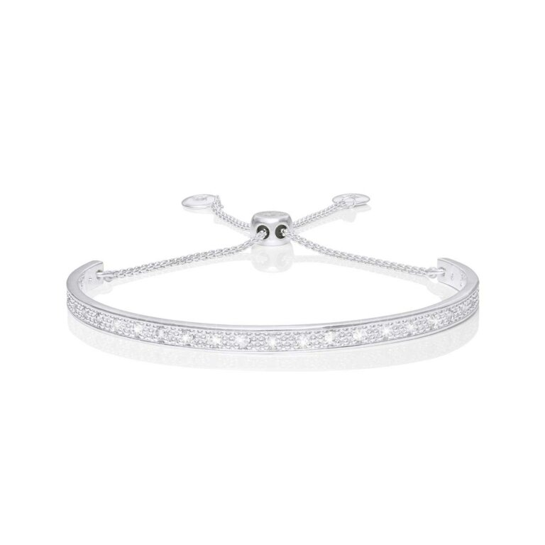Bracelet Bar Pave Bangle