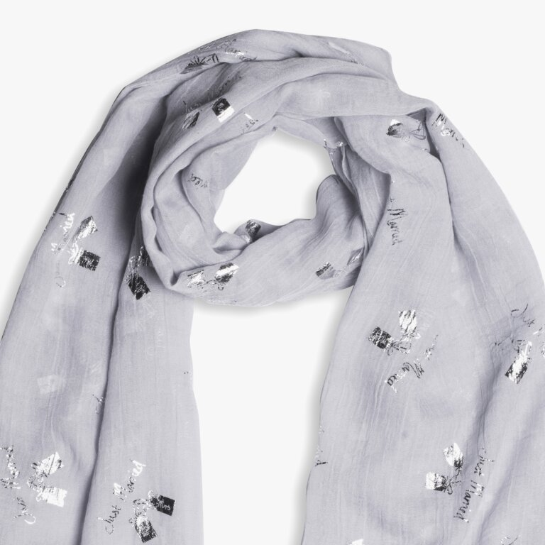 Sentiment Scarf Just Married
