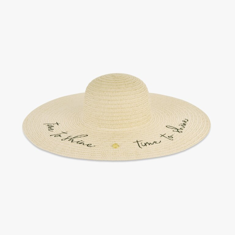 Straw Hat Time To Shine In Vanilla