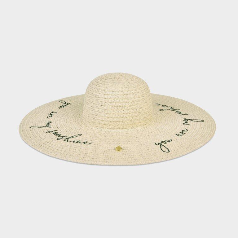 Straw Hat You Are My Sunshine In Vanilla