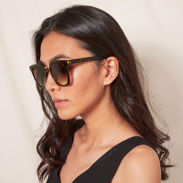 Riviera Sunglasses In Tortoiseshell