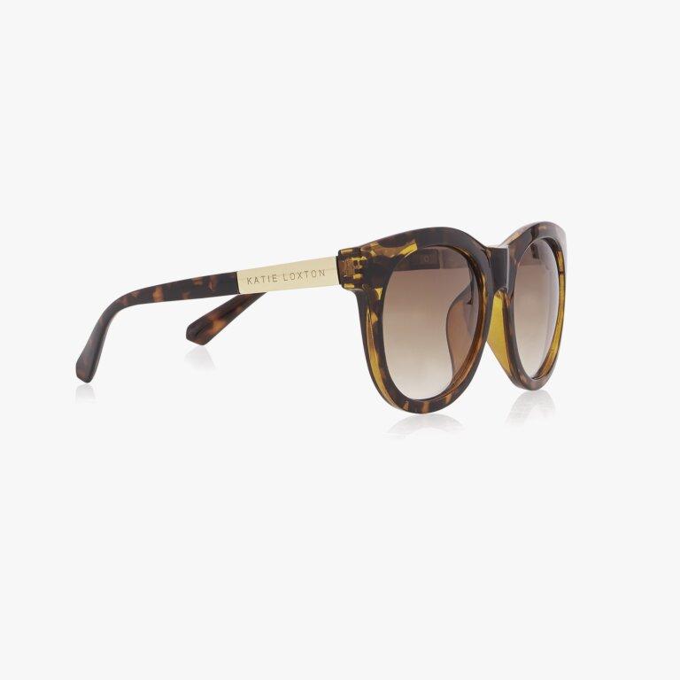 Vienna Sunglasses In Tortoiseshell