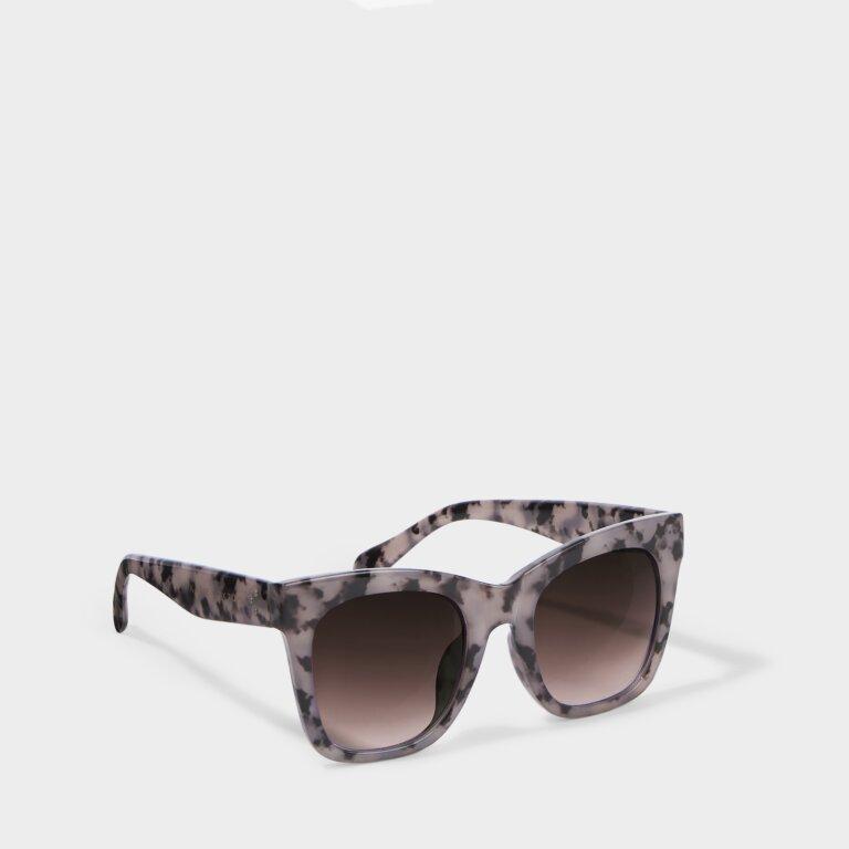 Mykonos Sunglasses Gradient Tortoiseshell in Grey