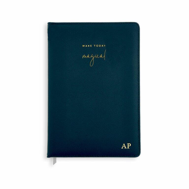 PU Notebook | Navy | Make Today Magical
