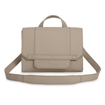 Mila Multi Way Backpack Crossbody Bag In Taupe