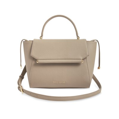 Ava Top Handle Bag Taupe