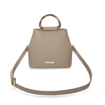 Tori Tortoiseshell Bag In Taupe