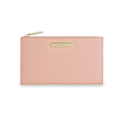 Alise Soft Pebble Fold-Out Purse In Blush Pink