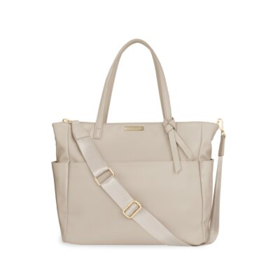 Baby Changing Bag In Warm Grey