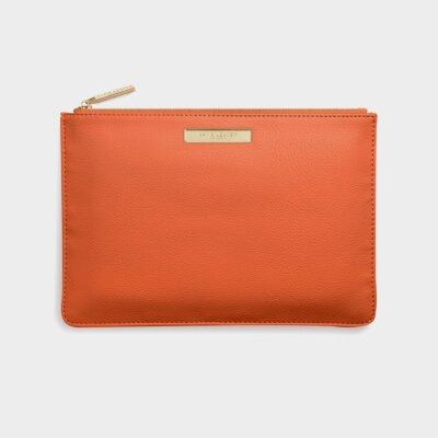 Soft Pebble Pouch | Burnt Orange