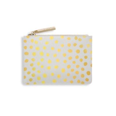 Dalmatian Print Card Holder In Gold