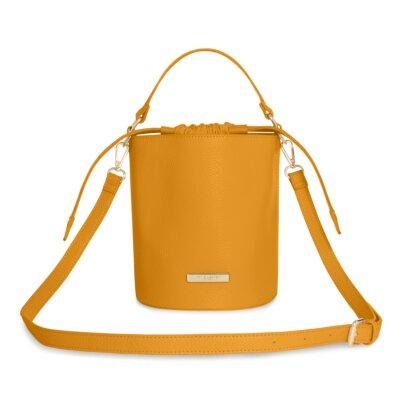 Amara Cross Body Bag In Ochre