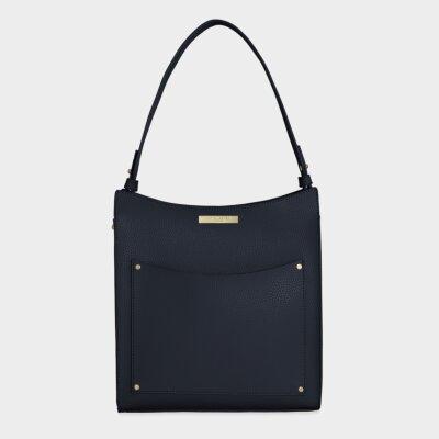 Pacey Pocket Shoulder Bag   Navy