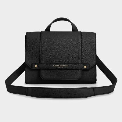 Mila Multi Way Backpack Crossbody Bag | Black