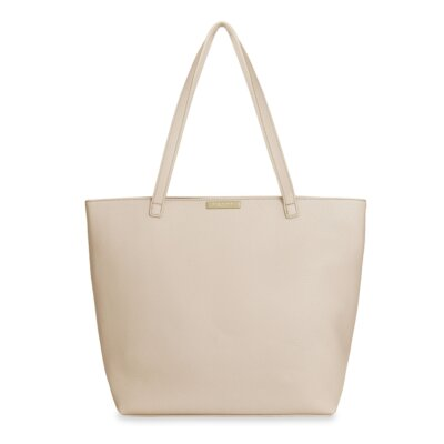 Layla Tote Bag In Nude Pink