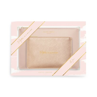 Perfect Pouch Gift Set Mom In A Million Pink
