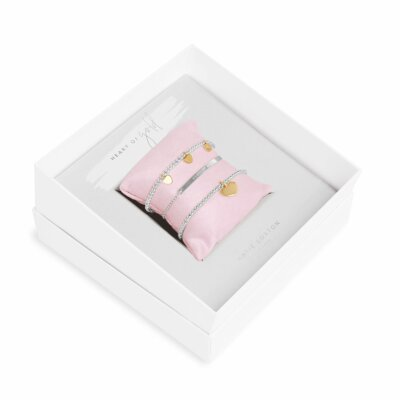 Occasion Gift Box Heart Of Gold Bracelets