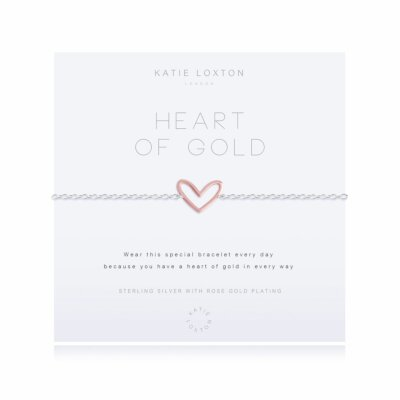 Sterling Silver Pave Bracelet | Heart Of Gold