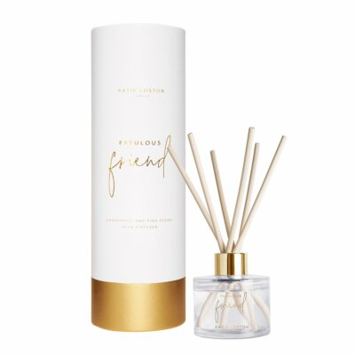 Fabulous Friend Reed Diffuser | Grapefruit And Pink Peony