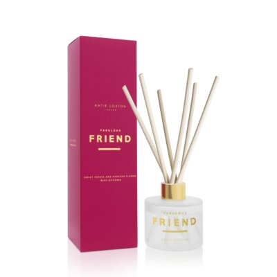 Sentiment Reed Diffuser Fabulous Friend Sweet Papaya And Hibiscus Flower