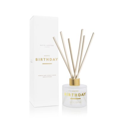 Sentiment Reed Diffuser Happy Birthday Pomelo And Lychee Flower