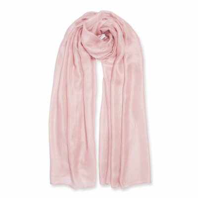 Wrapped Up In Love Boxed Scarf   Blush Pink