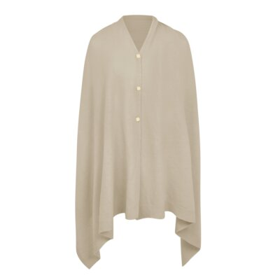 Eve Multi Way Poncho In Natural