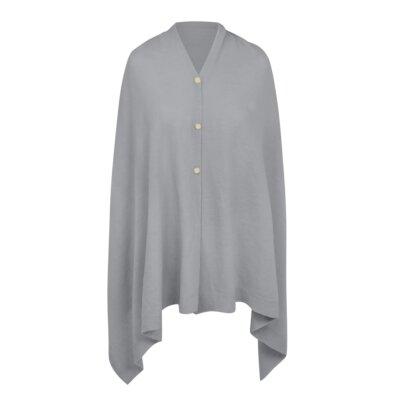 Eve Multi Way Poncho In Grey