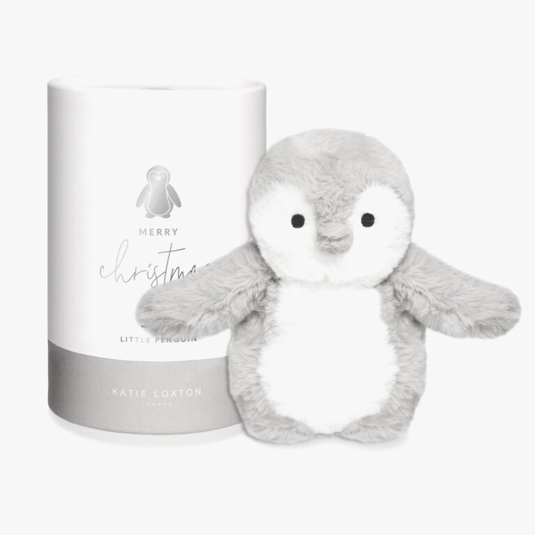 Penguin Baby Toy | Merry Christmas | Grey