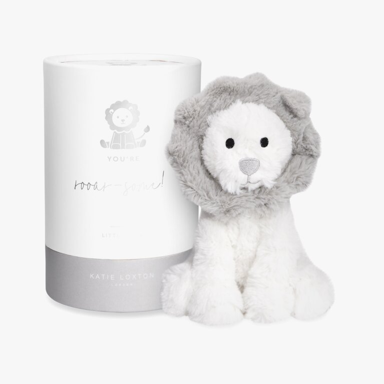 Lion Baby Toy | You're Rooar-Some! | White and Grey
