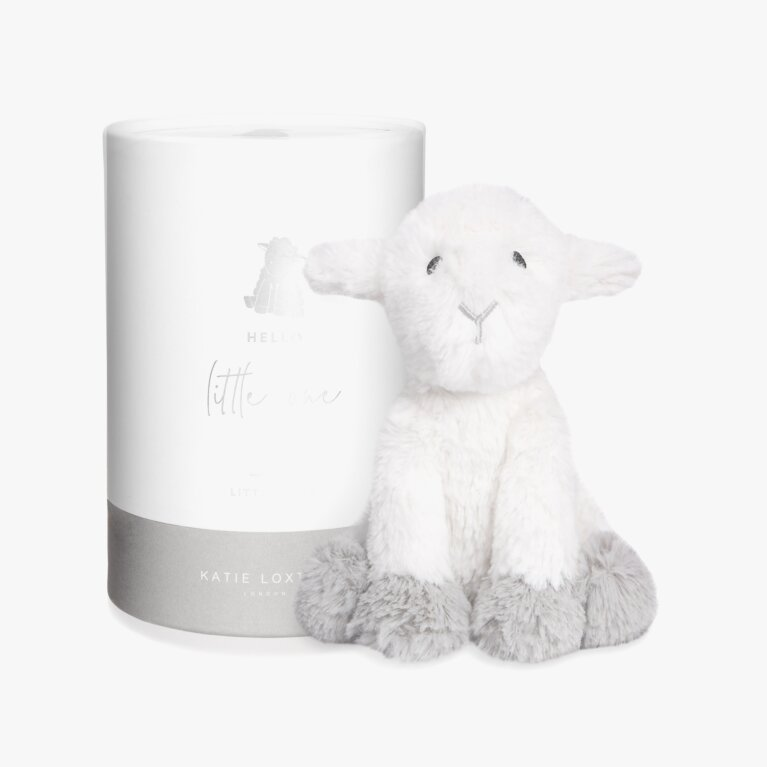 Lamb Baby Toy | Hello Little One | White and Grey