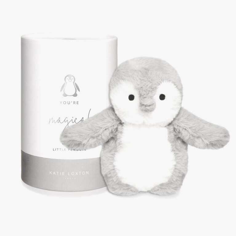 Penguin Baby Toy | You're magical | Grey