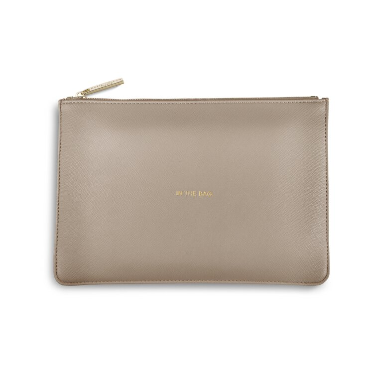Perfect Pouch | In The Bag | Soft Grey