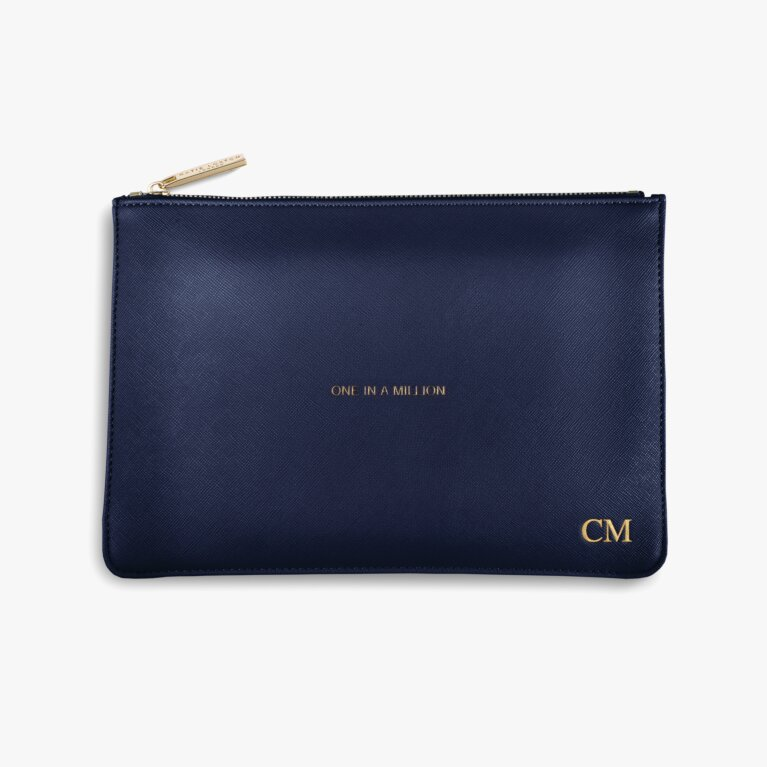 Perfect Pouch One In A Million In Navy