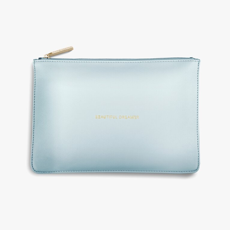 Perfect Pouch Beautiful Dreamer In Pale Blue